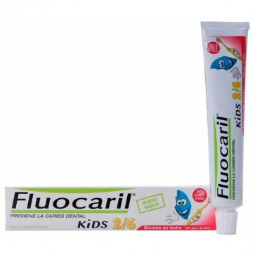 Gel Dental Fluocaril Kids Fresa 50 ml
