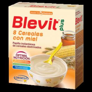 Blevit Plus 8 Cereales Miel 300 Gr