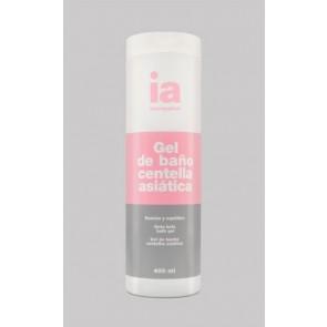 Interapothek Gel Baño Reafirmante 400 ml con Centella Asiática - Drena y Regenera Todo tipo de pieles