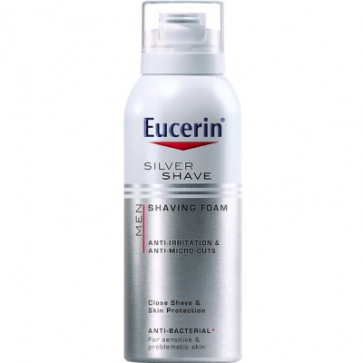 Eucerin Men Espuma de Afeitar 150 ml - Antibacteriano, Irritaciones