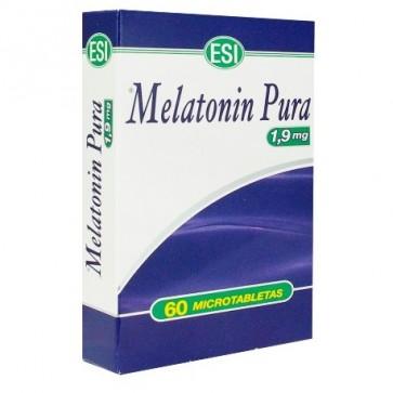 Melatonin Pura 1.9 Mg 60 Tabletas Esi - Conciliar el Sueño, Favorece al Descanso Nocturno