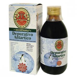 Depurativo Antartico 500 ml Decottopia - Complemento Alimenticio Drenante de Origen Natural