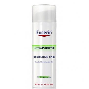 Eucerin Dermopurifyer Cuidado Hidratante 50 ml - Piel Grasa, Impurezas