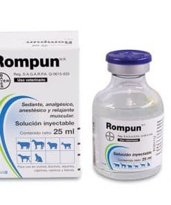 Rompun Inyectable 25 ml