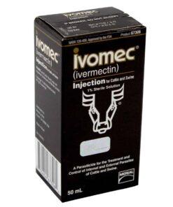 Ivomec Vacuno Solución Inyectable Vial 50 ml