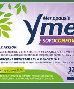 Comprar Ymea sofoconfort 24 horas controlar los sofocos y sudoraciones de la menopausia