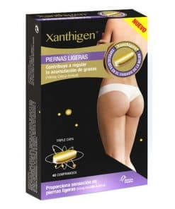 Comprar XLS Xanthigen Piernas Ligeras 40 Comprimidos es un complemento alimenticio ideado para ayudar a reducir el exceso de grasa y la celulitis