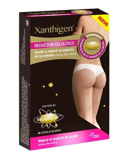 Comprar  XLS Xanthigen Reductor Celulítico 40 Comprimidos  es un complemento alimenticio ideado para ayudar a reducir el exceso de celulitis