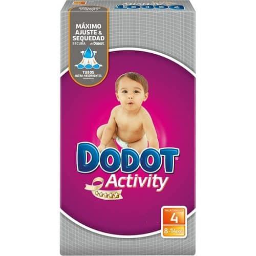 Comprar Pañal Dodot Activity 48 Uds Talla 4 - Pañal Infantil para Bebés de 9-15 kg