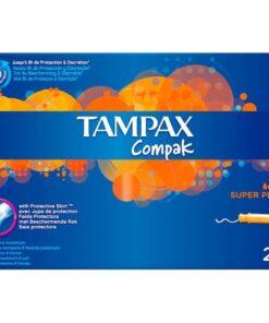 Tampax Compack Superplus 22 Unidades