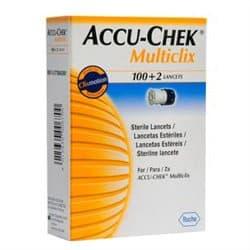Accu Chek Multiclix Lancetas 102 Unidades