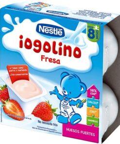 Nestle Postre Lácteo Fresa 4 x 100 Gr