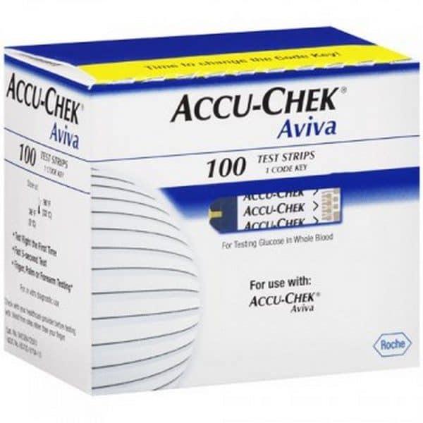 Comprar Accu-Check Aviva Tiras Reactivas 100 uds - Medición de Glucosa en Sangre