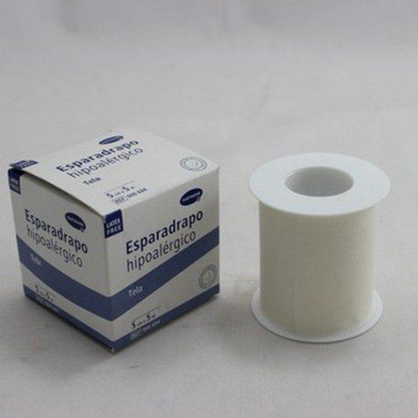 Comprar Esparadrapo Hipoalérgico Hartmann Papel 5 m x 5 cm - Botiquín