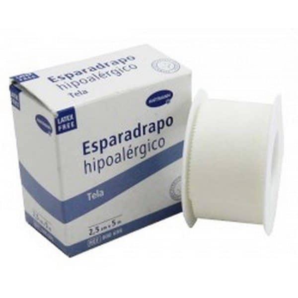 Comprar Esparadrapo Hipoalérgico Hartmann Papel 5 m x 2