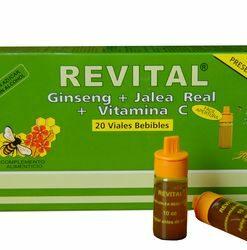 Revital Jalea Real + Vitaminas 20 Ampollas