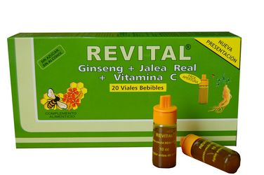 Revital Jalea Real + Vitaminas 20 Ampollas