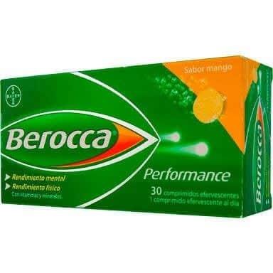 Comprar Berocca Performance Mango 30 Comprimidos Efervescente