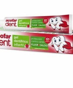 Acofardent Gel Dentífrico Infantil Fresa 50 ml