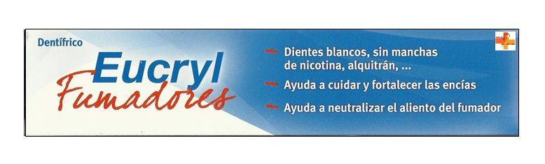 Eucryl Fumadores Pasta Dental 75 ml