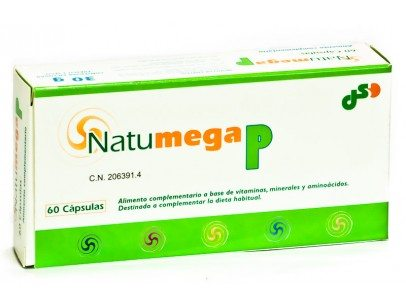 Comprar Natumega P 60 Capsulas - Complemento Alimenticio para Frenar la Caída del Cabello
