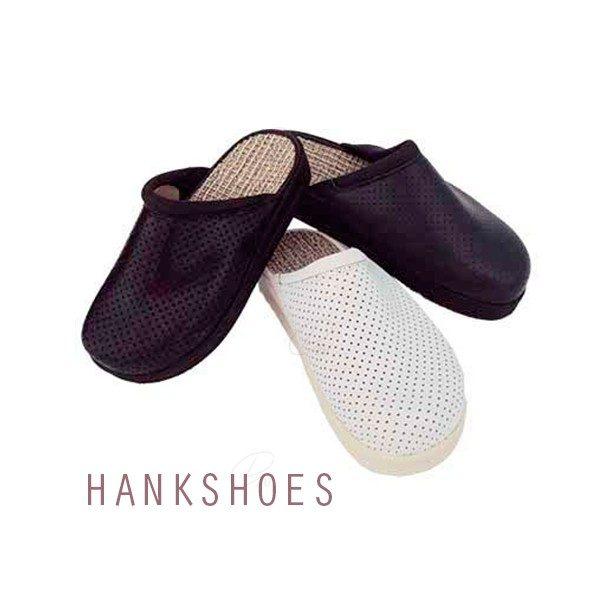 Comprar Zuecos Hankshoes Confort Blanco T-41