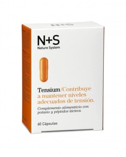 Comprar Nature System Tensium 60 Cápsulas - Ayuda a Mantener los Niveles Adecuados de Tensión Arterial