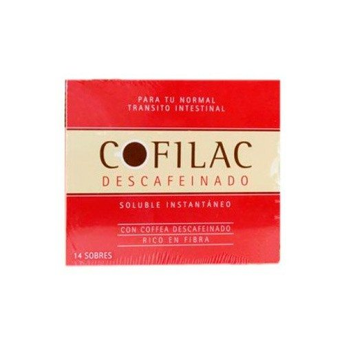 Comprar Cofilac Descafeinado 14 Sobres -  Favorece Tránsito Intestinal