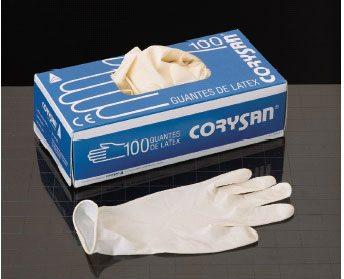 Comprar Guantes Corysan Latex Talla M 100 Ud