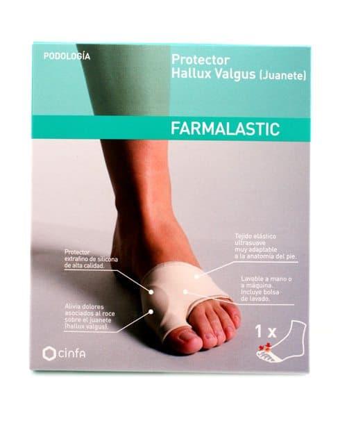 Protector Anti-Fricción Juanete para Talon Farmalastic - Previene la Formación de Ampollas