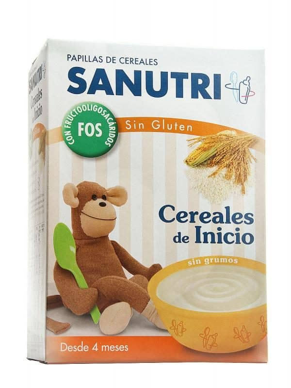 Sandoz Cereales Fósforo Sin Gluten Efecto Bifidus 600 Gr