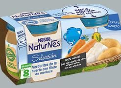 Nestlé Naturnes Verduras De La Huerta Con Merluza 2 x 200 gr