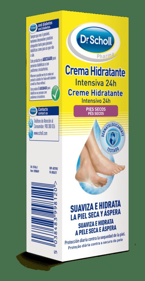 Crema Hidratante Intensiva 24H Dr. Scholl 75 ml - Pies Secos
