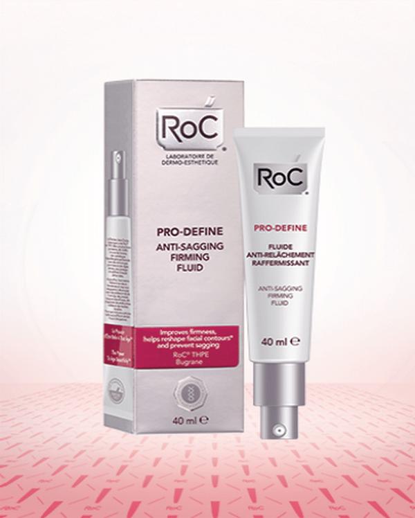 Comprar Roc Pro-Define Fluido Antiflacidez Reafirmante 40 ml - Previene la Flacidez Aumentando la Firmeza de la Piel