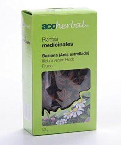 Comprar Acoherbal Badiana Frutos 60 Gr