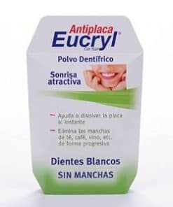 Comprar Eucryl Antiplaca Polvo Dental 60 Gr