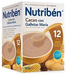 Nutriben Cacao Con Galletas Maria 500 Gr