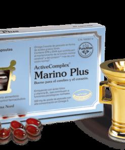 Activecomplex Marino PLUS 60 Capsulas - Bueno para el corazón y el cerebro
