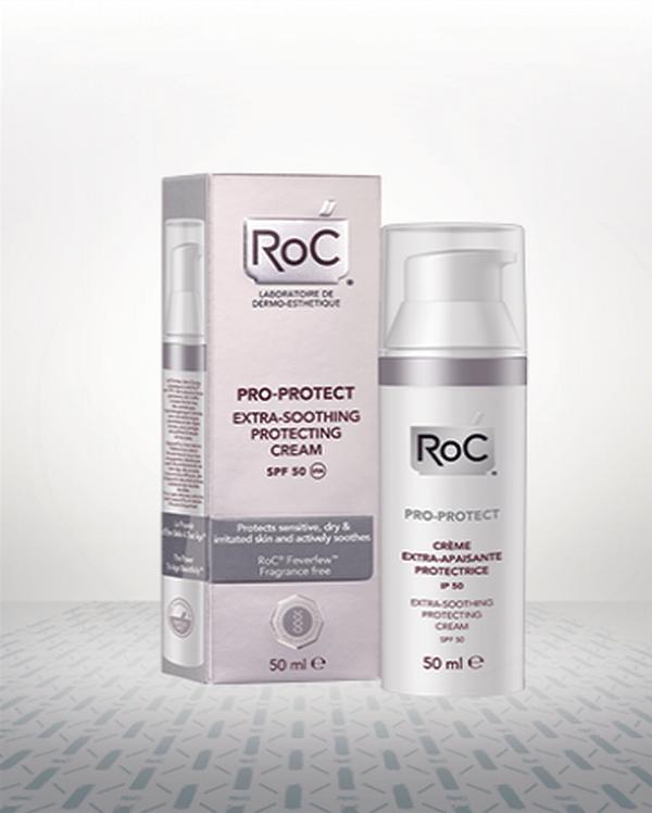 Comprar Roc Pro-Protect Crema Protectora Extra-Calmante SPF 50 50 ml - Calma la Piel Sensible e Irritada