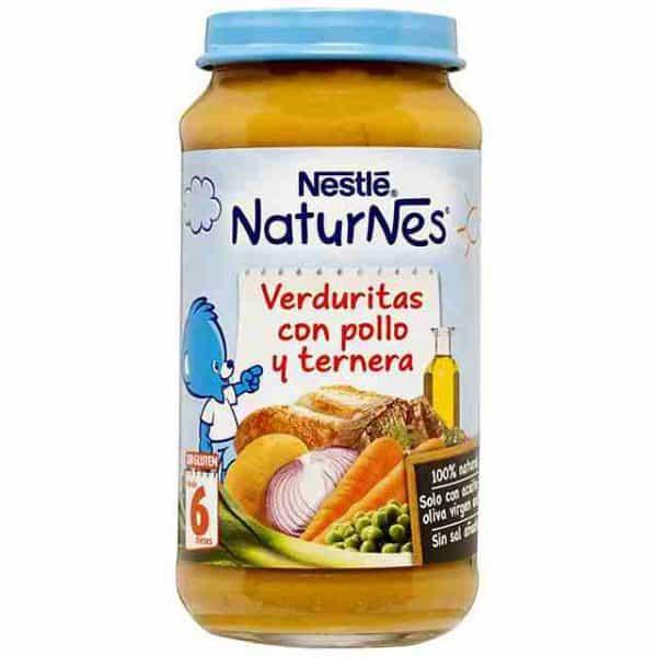 Nestlé Tarros 250 gr Verduritas Pollo Y Ternera