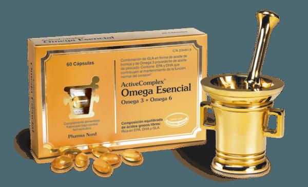 ActiveComplex Omega esencial 60 Capsulas - Mejora el funcionamiento del Cerebro