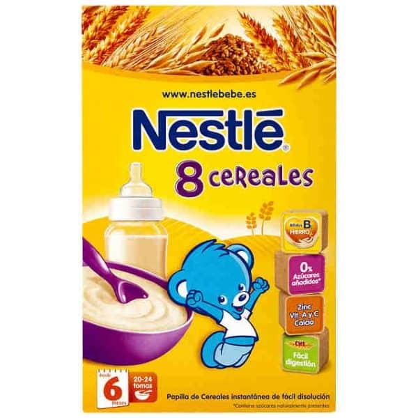 Comprar Nestlé 8 Cereales Bifidus 600 Gr