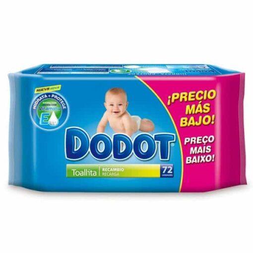 Toallitas Dodot Dermoactive Recambio 72 Unidades