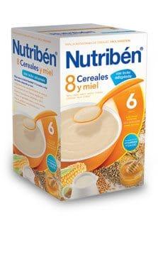 Comprar Nutriben 8 Cereales Miel C/ Leche Adaptada 600 G