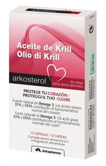 Krill Arko 15 Cápsulas Omega 3 500 mg