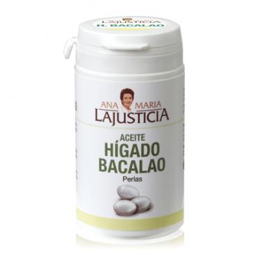 Ana Maria Lajusticia Aceite de Higado de Bacalado 90 perlas - Evita la descalcificación y mejora problemas oculares
