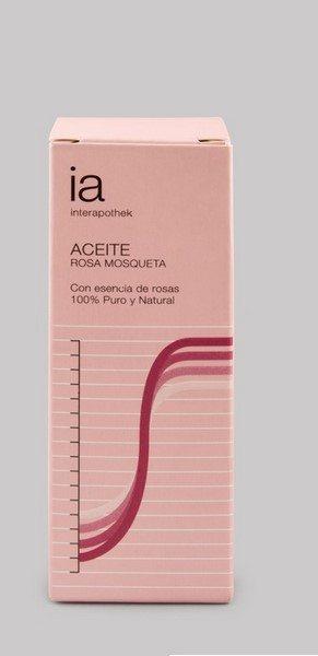 Aceite de Rosa Mosqueta Puro 20 ml 100% Natural de Interapothek