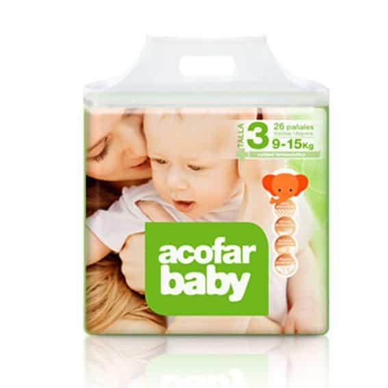 Comprar Acofarbaby Pañal Infantil T.3 9-15 Kg 32 Ud