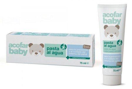 Comprar Acofarbaby Pasta Al Agua 75ml - Calma y Protege la Piel del Bebé