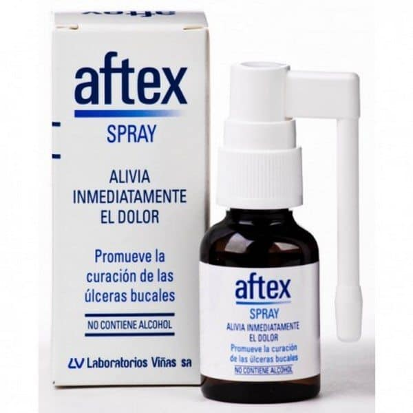 Comprar Aftex Spray 20 ml - Curación de Úlceras Bucales